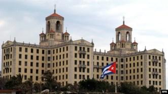 Hotel Nacional de Cuba, donde se alojará parte de la delegación que acompañará al presidente Obama.