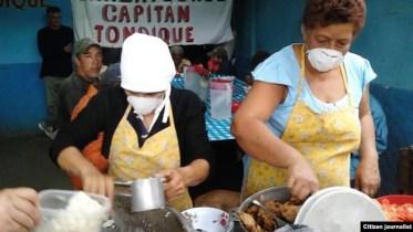 Proyecto Tondique ayuda a los desamparados.