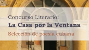 """Portada del eBook con los premiados y finalistas del concurso """"La casa por la ventana""""."""