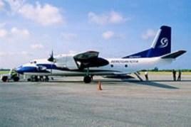 La empresa militar de turismo Gaviota tiene su propia flota aérea, Aerogaviota.