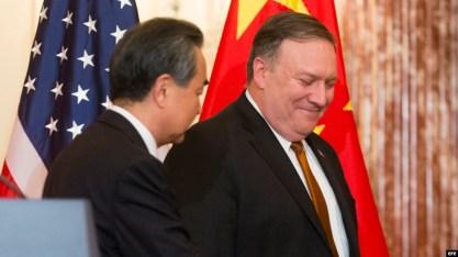 El secretario de Estado de EE.UU se reúne con el ministro de Relaciones Exteriores de China Wang Yi.