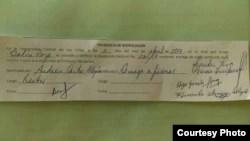 Sanción a Dalila Rodríguez