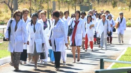 Médicos cubanos en Brasil. (Archivo)