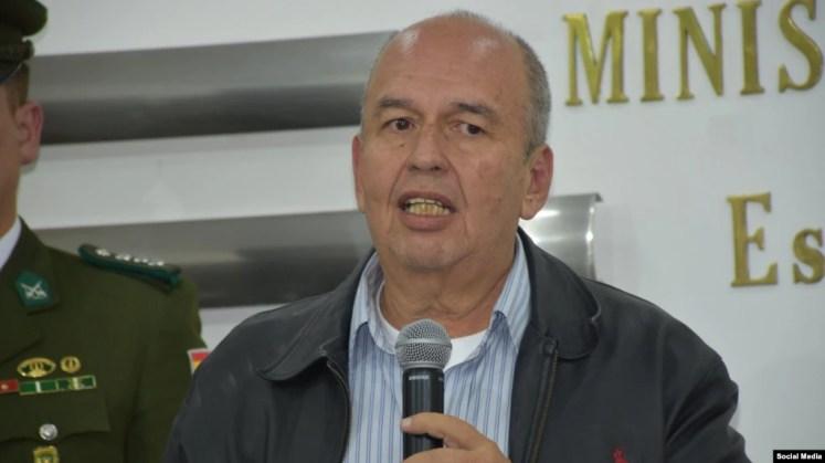 Ministro de Gobernación y exlegislador, Arturo Murillo