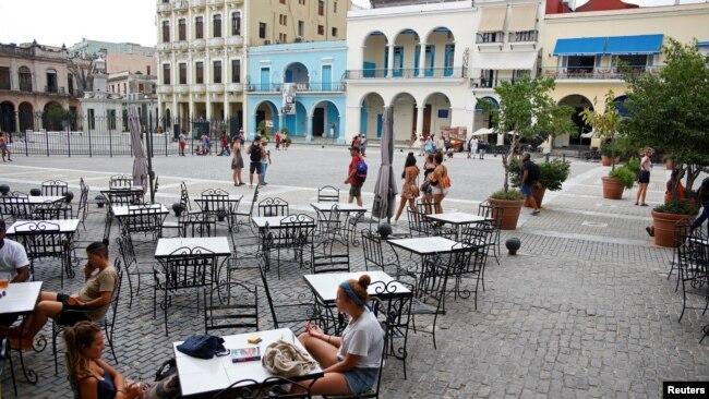Así luce la caída del turismo en Cuba