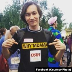 Член движения «Республика» Муратбек Каримов.