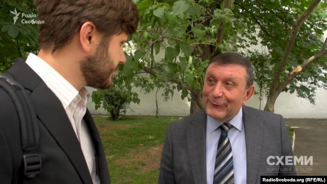Директор заповідника Любомир Михайлина спілкуватися з журналістами не захотів