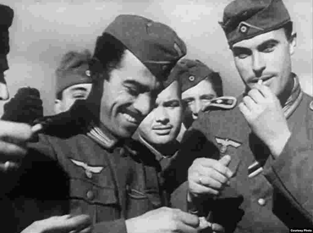 «Голубая дивизия»: испанцы