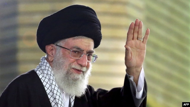 Iran's supreme leader Ayatollah Ali Khamenei underwent prostrate surgery in 2014 and there have been rumors that he is not in the best of health. (file photo)