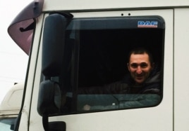 MIkhail is just one of many Russian truckers who are angry about the new levy