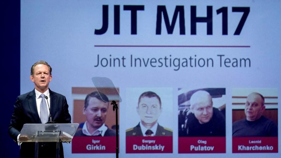 Az Oroszország elleni hágai koncepciós per négy fő vádlottja