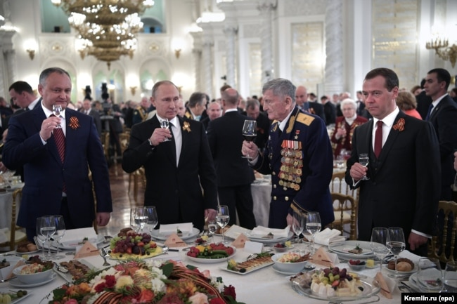 La recepția de la Kremlin