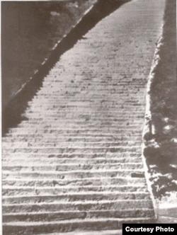 Лестница смерти в Маутхаузене