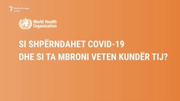 Si shpërndahet COVID-19 dhe si ta mbroni veten kundër tij?