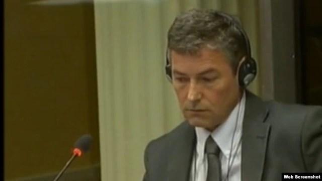 Jean Rene Ruez svjedoči na suđenju Ratku Mladiću, 28. svibanj 2013.