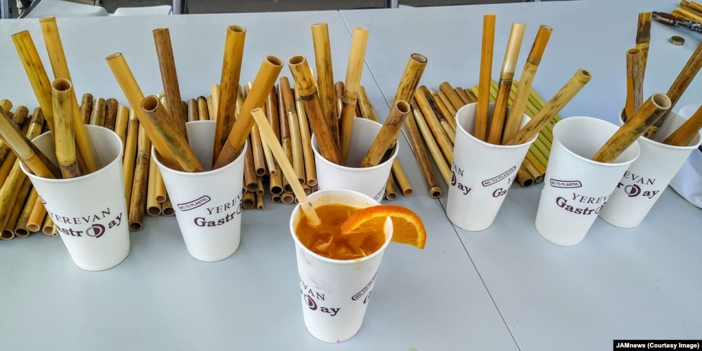 But with paper straws prone to sogginess, and metal straws tricky to clean (and potentially deadly), Gasparian believes bamboo is the best replacement for plastic.