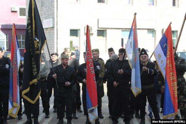 Postrojavanje u Višegradu vlasti nisu spriječile