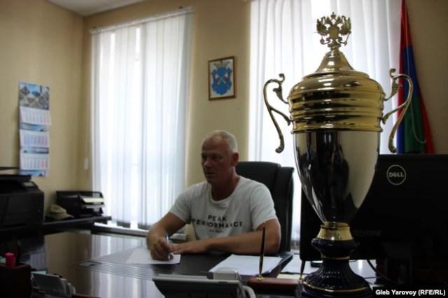 Кубок победителя конкурса по благоустройству поселений
