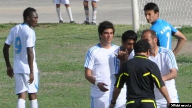 Tajik Soccer Players Get With The Program