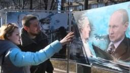 Відкриття виставки в Москві до річниці анексії Криму