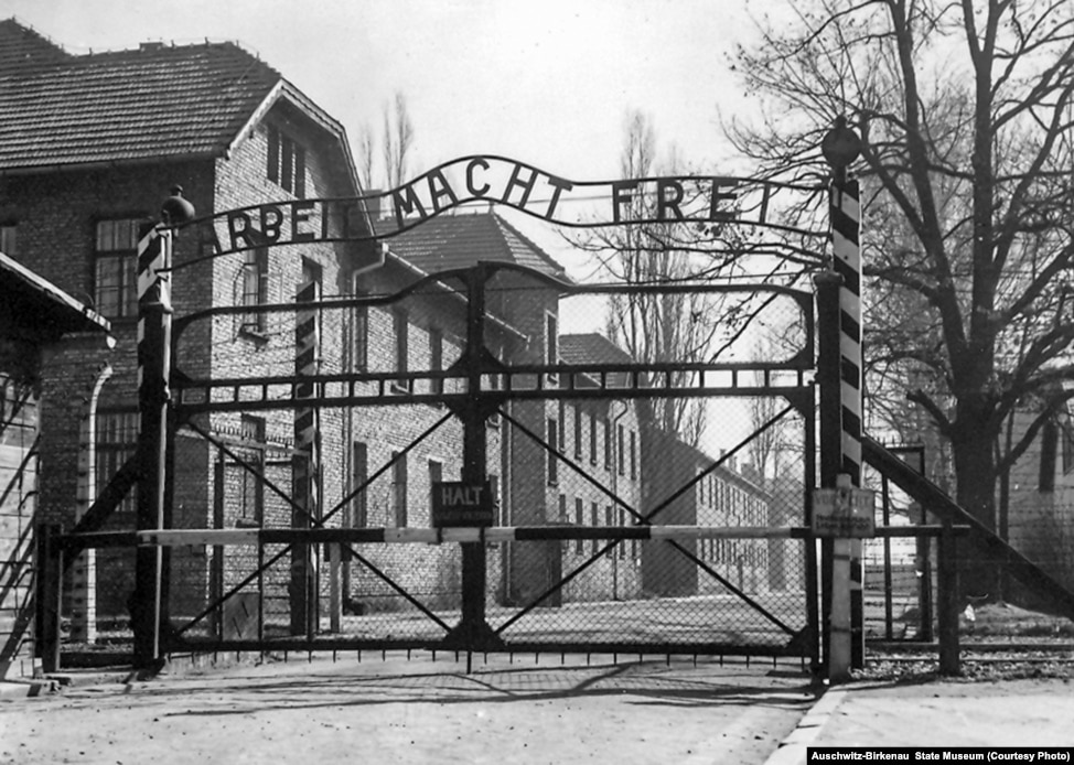 Image result for auschwitz gate