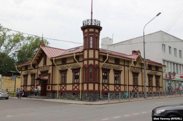 Дом Берга, Сортавала