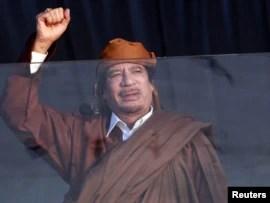 Muammar Ghadafi