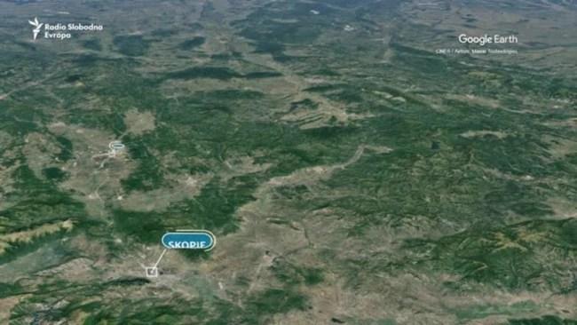 Granica Srbije i Severne Makedonije kod Preševa