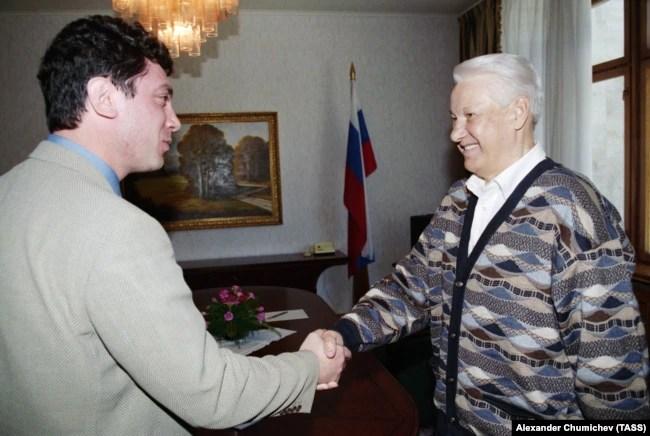 Два Бориса – Немцов и Ельцин. Кремль, 1997 год