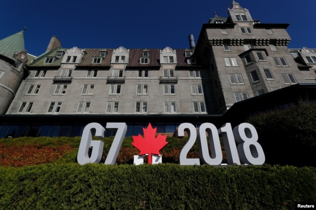 The final G7 communique expressed the need for trade cooperation, took a hard line on Russia, and stressed the importance of containing Iran's nuclear program.
