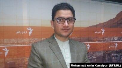 د انتخاباتو خپلواک کمېسیون ویاند میرزا محمد حقپرست