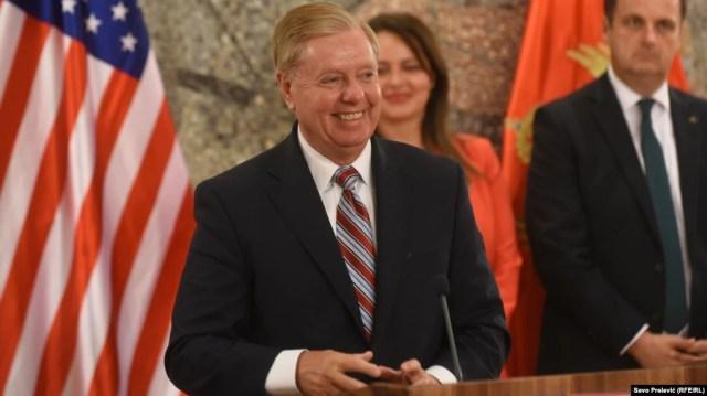 Сенатор Ліндсі Ґрем охрестив «пекельними санкціями» законопроєкт під назвою «Закон про захист американської безпеки від агресії Кремля»