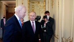Путін та Байден у Женеві