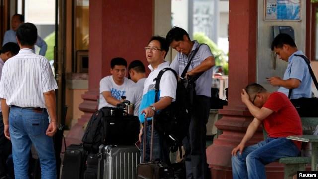 Khu công nghiệp Vũng Áng được coi là một trong các dự án đầu tư nước ngoài lớn, nơi hiện có hàng nghìn công nhân Trung Quốc đang làm thuê cho các nhà thầu.