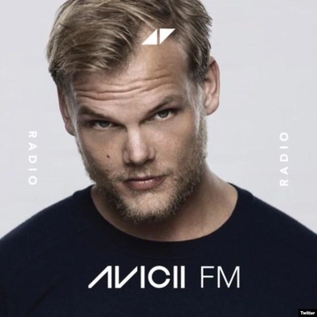 AVICII, foto en su cuenta @Avicii de una promoción de su programa en abril 12 de 2018.