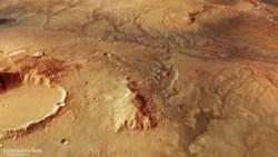 """Quiz: """"Gefrorener Rauch"""" könnte Mars lebenswert machen"""
