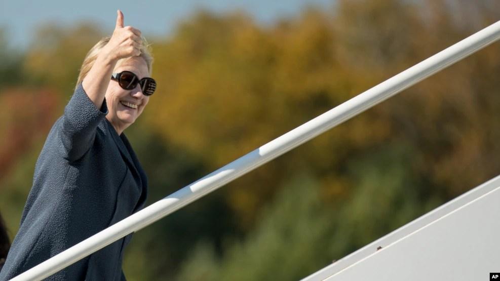 Những cuộc thăm dò gần đây cho thấy bà Clinton đã vượt lên dẫn trước ông Trump với cách biệt còn lớn hơn.