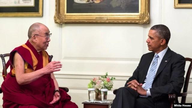 Ông Obama gặp Đức Đạt Lai Lạt Ma tại Phòng Bản đồ Tòa Bạch Ốc thay vì Phòng Bầu Dục, nơi tổng thống thường hội đàm với các nhà lãnh đạo thế giới