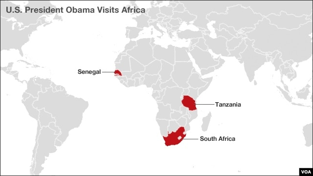 President Obama's trip to Africa
