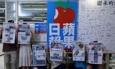 Penutupan Koran Hong Kong, 'Hari yang Menyedihkan'