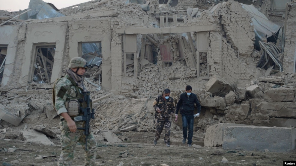 Resultado de imagen para Afghanistan: At least 6 killed, over 100 injured in Taliban attack on German consulate