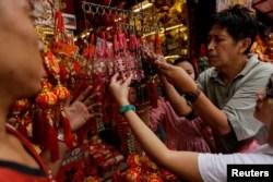 Las fiestas por el Nuevo Año Lunar se mantuvieron en Filipinas, aun con las advertencias por el nuevo coronavirus. Philippines,