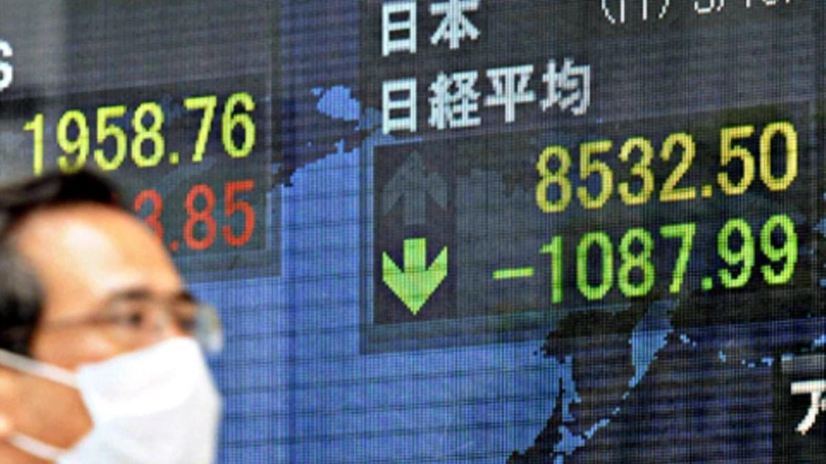 日本股市連續第二日下跌