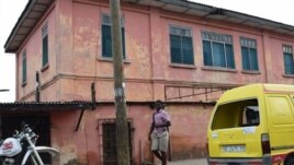 The exterior of the fake embassy in Accra, Ghana. (Photo courtesy of U.S. Department of State)