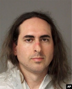 Jarrod Warren Ramos in Annapolis, Maryland, June 29, 2018. First-degree murder charges were filed Friday against Ramos who police said targeted Maryland's capital newspaper.