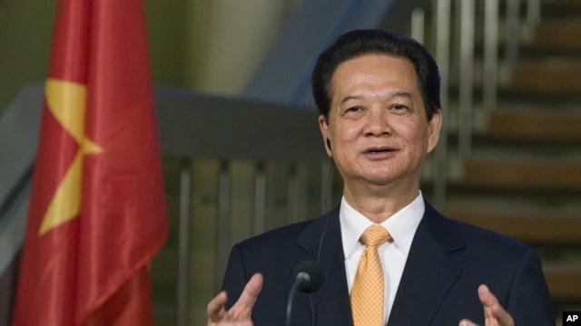 """Trong thông điệp đầu năm ngoái 2014, nhà lãnh đạo chính phủ Việt Nam cam kết sẽ dồn nỗ lực xây dựng một nhà nước pháp quyền, """"phát huy quyền làm chủ của nhân dân""""."""