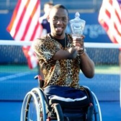 Wheelchair Quad Rustic Living Room Chairs South African Inspires Tennis World From A Lucas Sithole Won The Singles Final In September At U S Open And Hopes