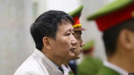 Trịnh Xuân Thanh bị xét xử tại Việt Nam.