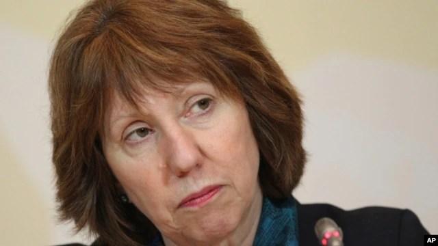 Giới chức cấp cao phụ trách chính sách an ninh và đối ngoại của Liên hiệp châu Âu (EU), bà Catherine Ashton.