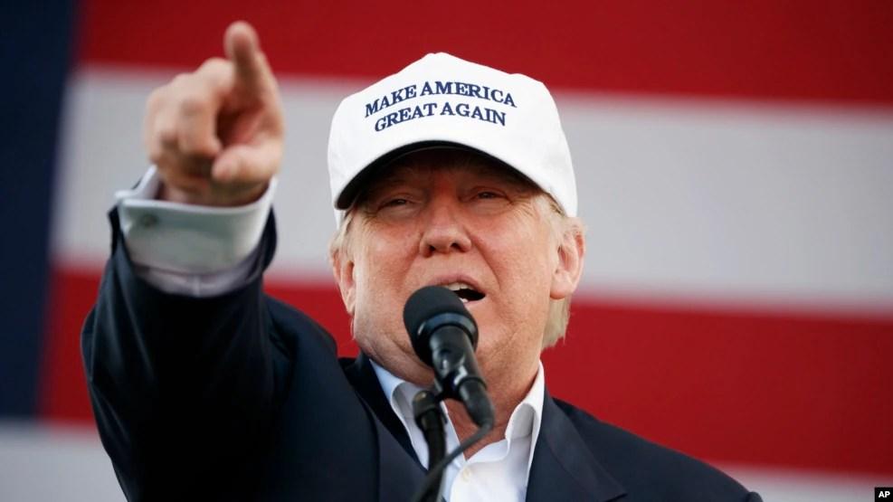 Ông Trump nhiều lần tuyên bố cuộc bầu cử Tổng thống ngày 8/11 có thể bị gian lận.